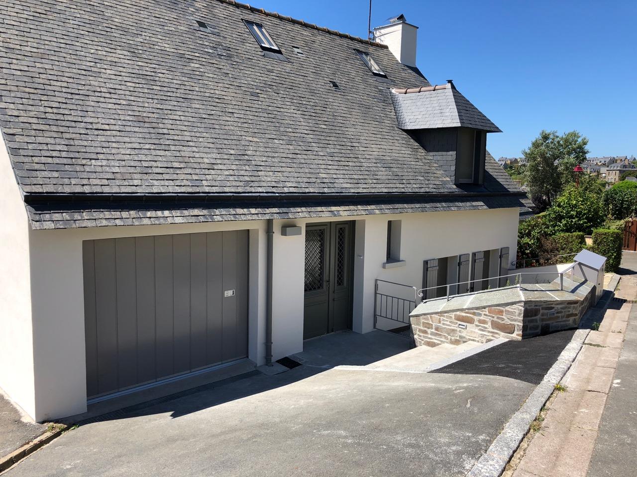 rénovation - extension maison saint suliac